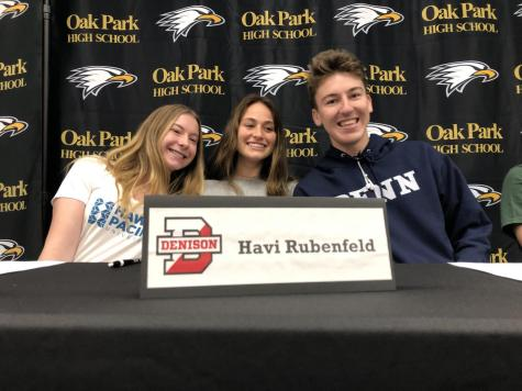 Student athletes commit to various colleges