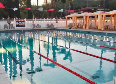 Lake Lindero Country's pool is one practice location being considered for the newly approved swim team.