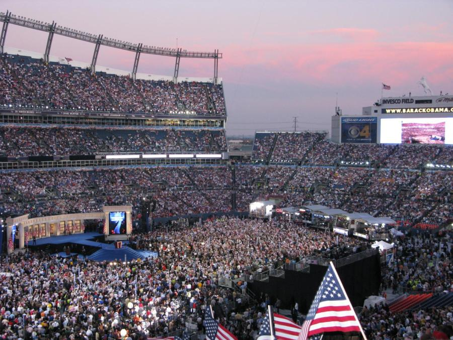 The+2008+Democratic+National+Convention+nominates+and+confirms+former+President+Barack+Obama+and+former+vice+president+John+McCain