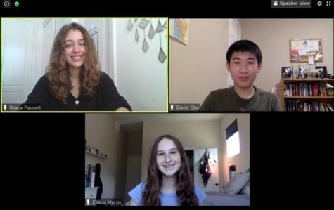 Top Row (from left to right): Grace Faussett, David Cho Bottom Row: Eliana Morris