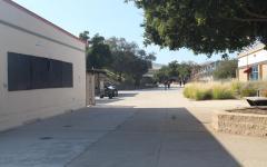 Oak Park High School hallway