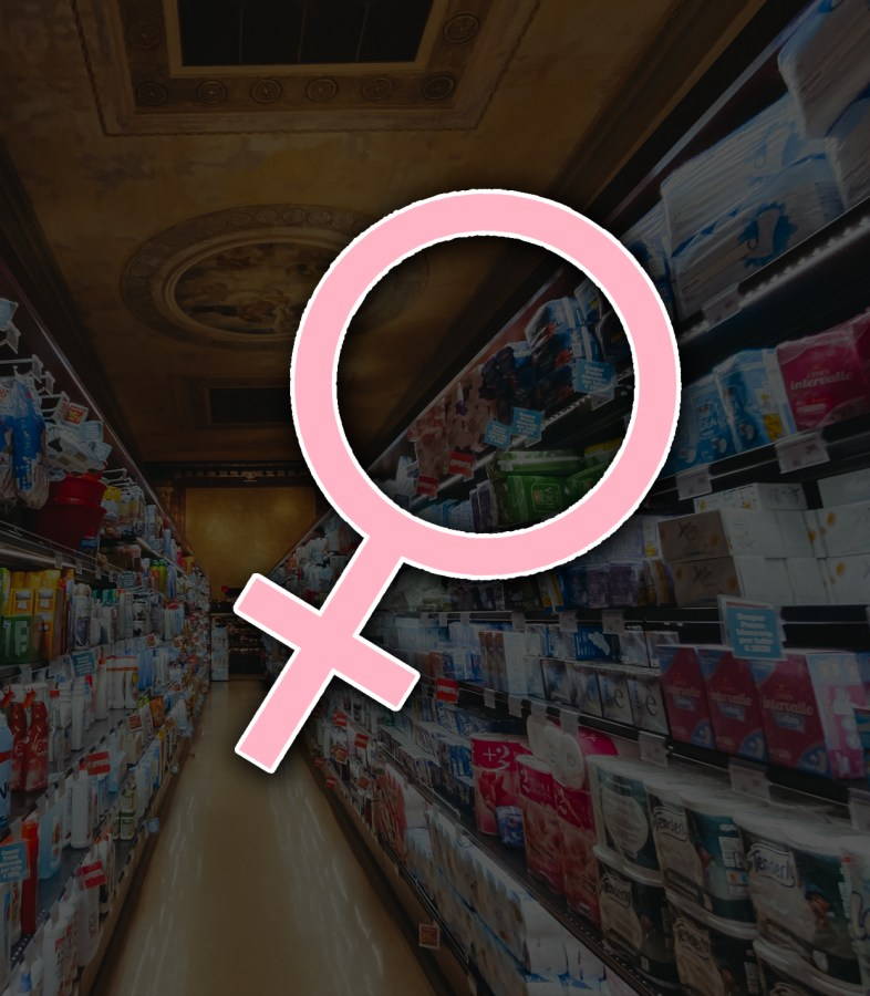 Ava+Harris+discusses+the+pink+tax%2C+a+increase+in+price+for+women%27s+products+merely+due+to+the+fact+that+they+are+for+women.+