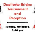 Web advertisement for a Bridge Tournament