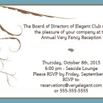 invitation design with abstract leaf images