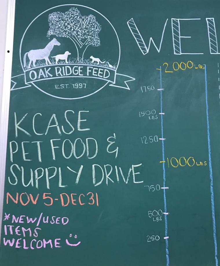 KCASE Food Supply Drive