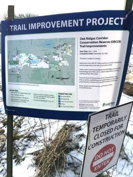 Oak Ridges Trail Improvement