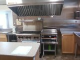 kitchen stove and griddle