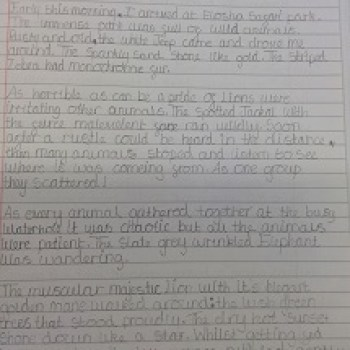 Year 6 Handwriting - 1
