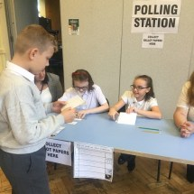 School Council Election Day 15