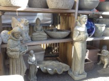 Assorted statuary...