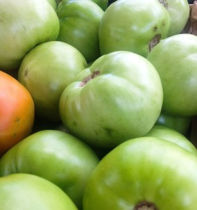 Fried green tomatoes, anyone?