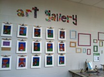 oakton art - elementary