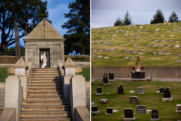 Mountain View Cemetery Angels