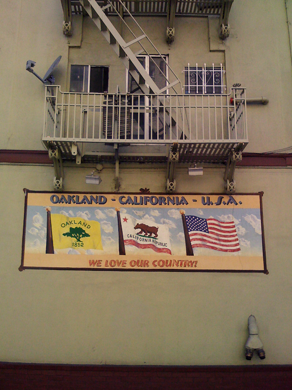 We Love Our Country Mural