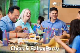 Credit Union Budgeting's Not A Chips And Salsa Party