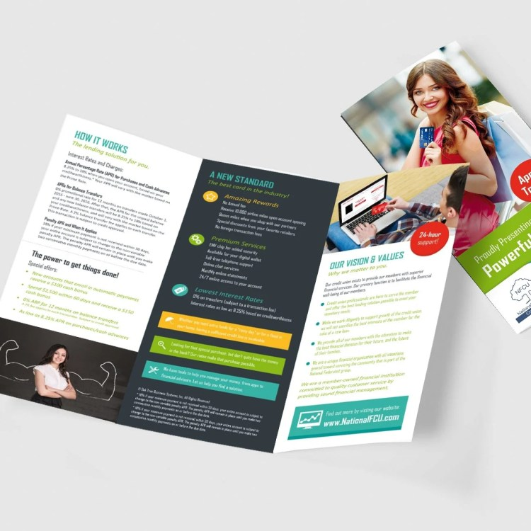 Credit Union Marketing Services Sample - Brochure