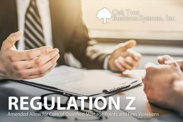 Credit Union Regulation Z Changes