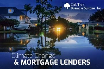 Climate Change & Mortgage Lenders