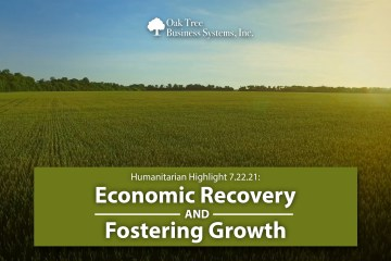 Humanitarian Highlight 07.22.21 | Economic Recovery & Fostering Growth