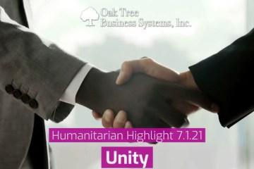 Humanitarian Highlight - Unity
