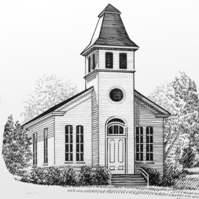 Sketch of Oakville Presbyterian Church