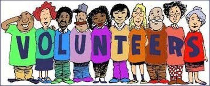 Colorful volunteers image