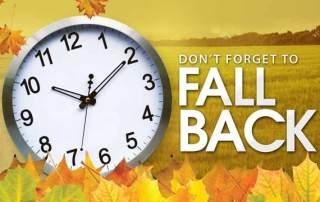 Daylight Saving Time Ending