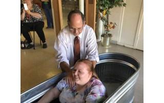 Baptism Oakwood United Methodist Church, Lubbock Texas