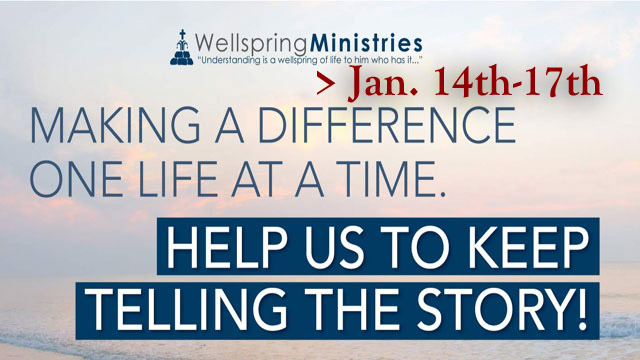 Wellspring Ministries | I Found Freedom and How to Minister to Others