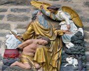 Abraham, Isaac, the Angel, and the Ram | Oakwood United Methodist Church, Lubbock Texas