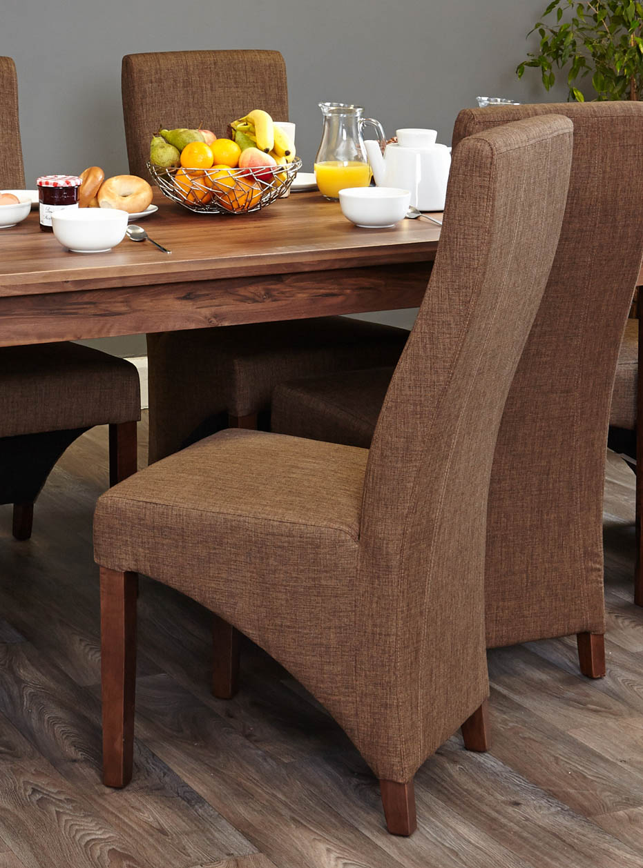 Walnut Dining Chair Toronto Walnut Dining Chair In Hazelnut