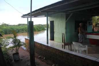 O medo está convivendo diáriamente com a família do pescador - Fotos: Alexandre Lima