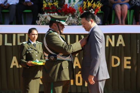 Superintendente da PF no Acre, Chang Fan...