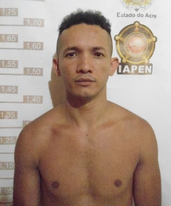 Gerilto Caetano da Silva (26), vulgo 'Teletube', preso várias