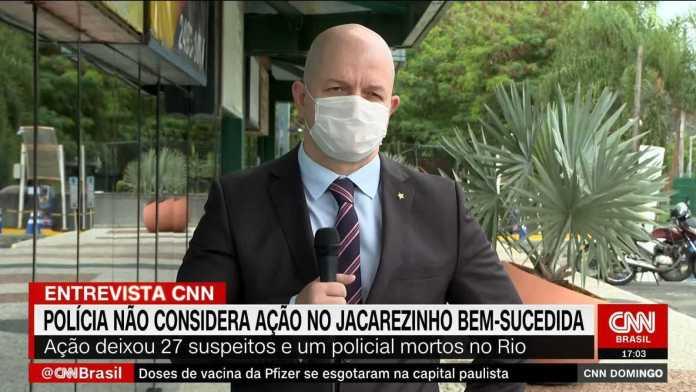 Quem não quis enfrentar a polícia foi preso, diz delegado sobre Jacarezinho