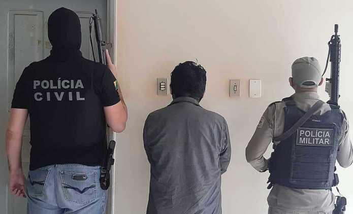 Vídeo: Polícia do Acre prende boliviano integrante de quadrilha de puxadores de caminhonetes