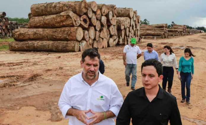 Setor Madeireiro é o carro-chefe da economia do Acre quando o assunto é exportação