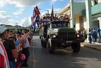 CUBA-REEDITAN EN CAMAGÜEY PASO DE LA CARAVANA DE LA LIBERTAD