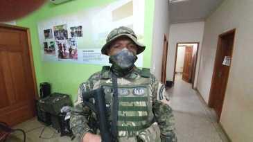 Sargento da PM, Vilas boas esteve na operação que resultou na prisão dos suspeitos.