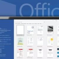 Como desabilitar a tela de início do Office 2013 e 2016