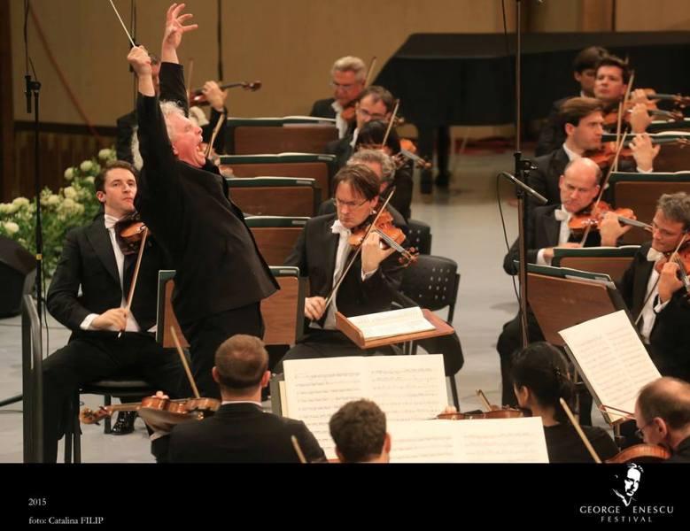 Berliner Philharmoniker, Dirijor Sir Simon Rattle. Foto Catalina Filip