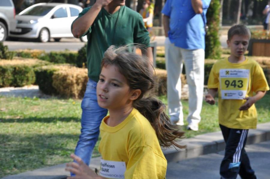 Maria Ionita in timpul unei alergari