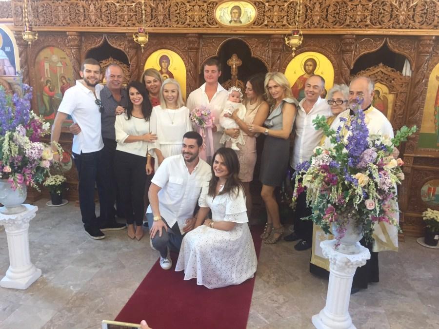 Botezul micutei Tevva, fetita Alexandrei Nechita