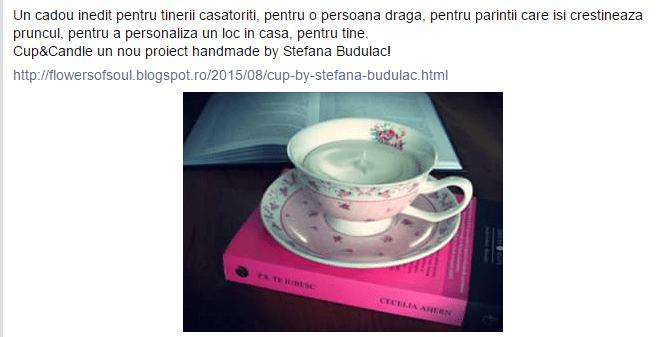 Stefana Buculac a furat proiectul Cup&Candle semnat Oana Botezatu (2)