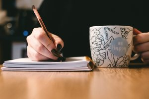 Writing, dreaming, thinking