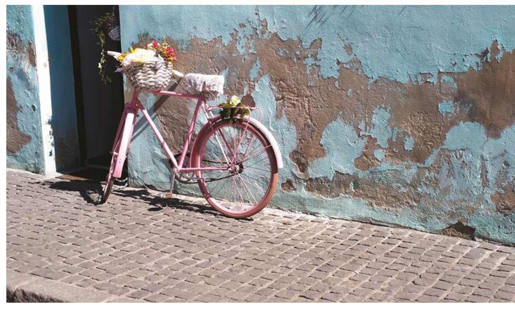 Pink bicycle in Cluj, Romania - Oana Harrison