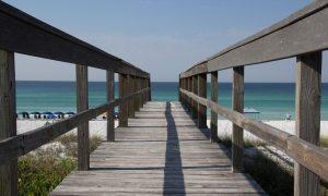 Miramar Beach boardwalk Oana Harrison