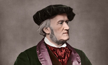 German composer Richard Wagner