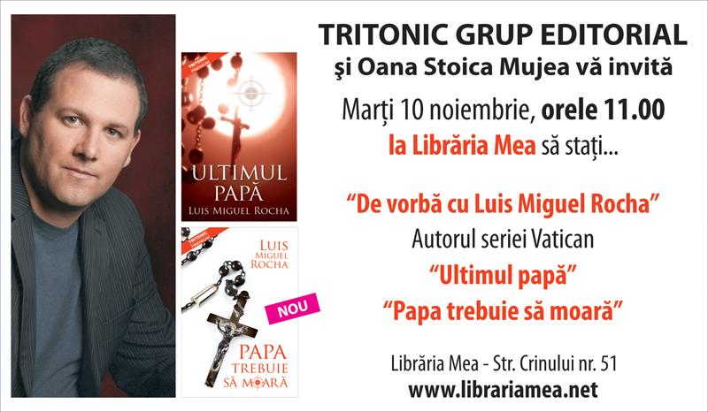 Invitatie Pitesti Libraria mea