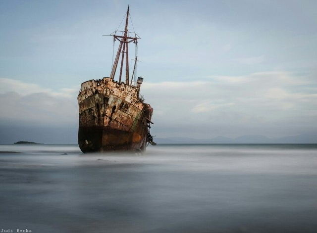 The Dimitrios Shipwreck, by PicsArtist Judi Berks